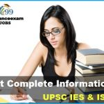 UPSC IES/ISS Syllabus 2019