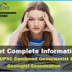 UPSC Combined Geo-Scientist and Geologist Answer Key 2019