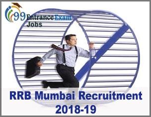 RRB Mumbai Recruitment 2018-19