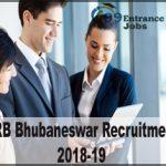 RRB Bhubaneswar Recruitment 2019-20