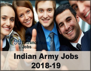 Indian Army Jobs 2018-19