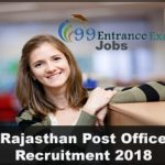 Rajasthan Post Office Recruitment Application Form, Eligibility, Admit Card & Important Dates etc