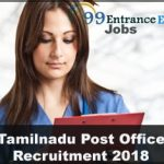 Tamilnadu Post Office Recruitment Application Form, Eligibility, Admit Card & Important Dates etc