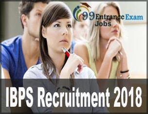 IBPS Recruitment 2018