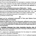 Indian Air Force Airmen Recruitment (Group 'X' and 'Y' Trades)