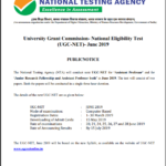UGC NET 2019 (June): Application Form (Out), Exam Date, Eligibility