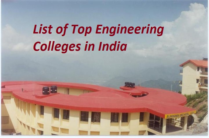 List of Top Engineering Colleges in India