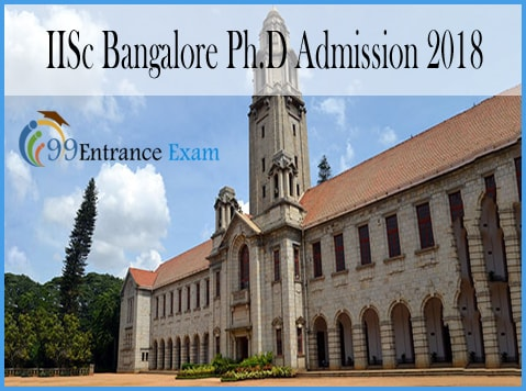 IISc Bangalore Ph.D Admission 2018