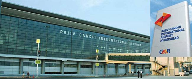 • Rajiv Gandhi International Airport, Hyderabad