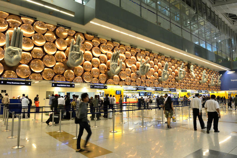 busiest airport in India