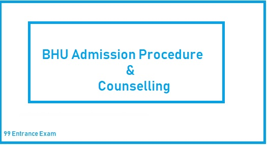 BHU UET Admission procedure