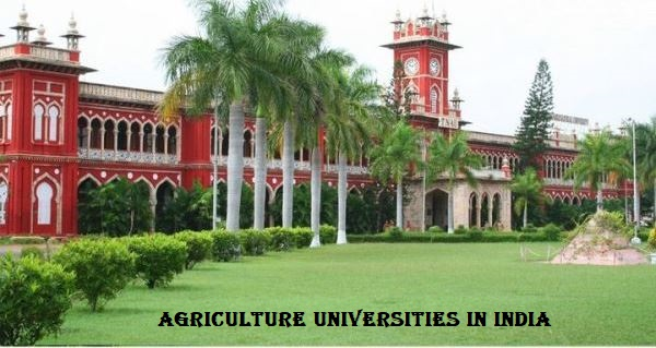 Agriculture Universities in India