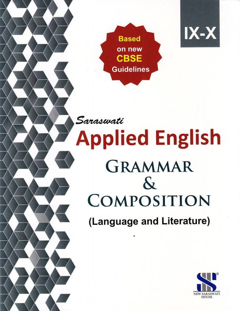 Applied English Grammar and Composition IX & X Educational Book