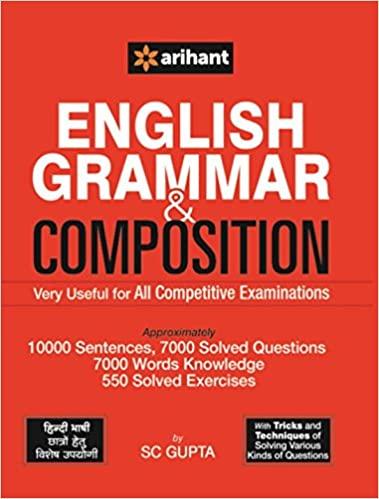 Arihant's English Grammar and Composition
