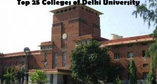 Top 25 Colleges of Delhi University